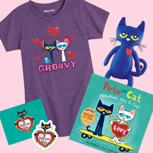 Valentine's Day Groovy Gift Set- Toddler and Youth