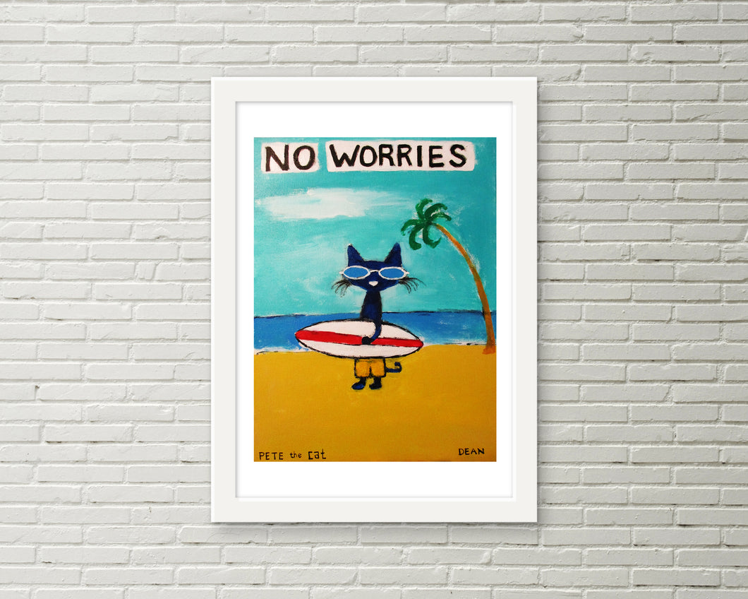No Worries Surfer