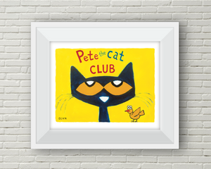 Pete the Cat Club (Yellow Bird)