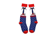 Pete the Cat Kids Knee-high Polka Dot Socks