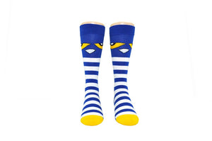NEW! Pete the Cat Kids Knee-high Striped Socks