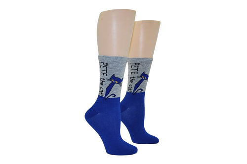 Pete the Cat Adult Crew Socks