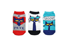 Pete the Cat Kids Socks- 3 Pack