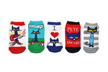 Pete the Cat Kids Socks- 5 Pack