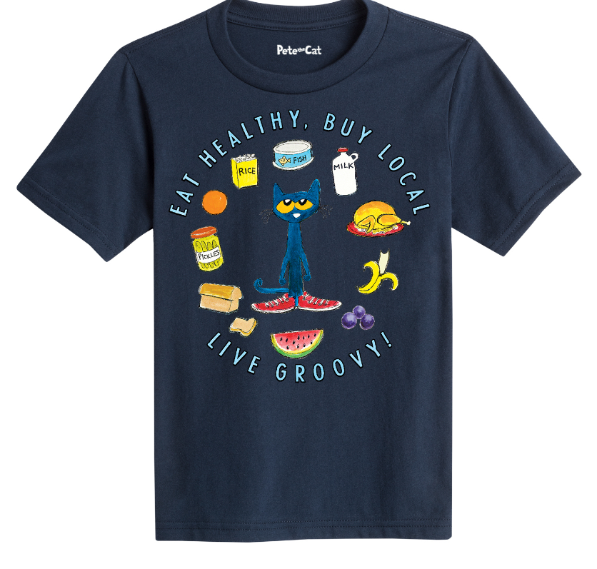 Eat Healthy Buy Local Youth Shirt