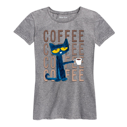 Coffee Coffee Coffee Ladies Shirt