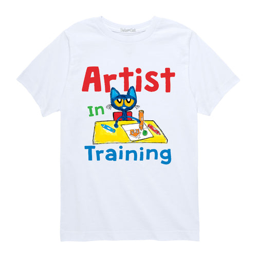 Pete the Kitty Artist Toddler Shirt