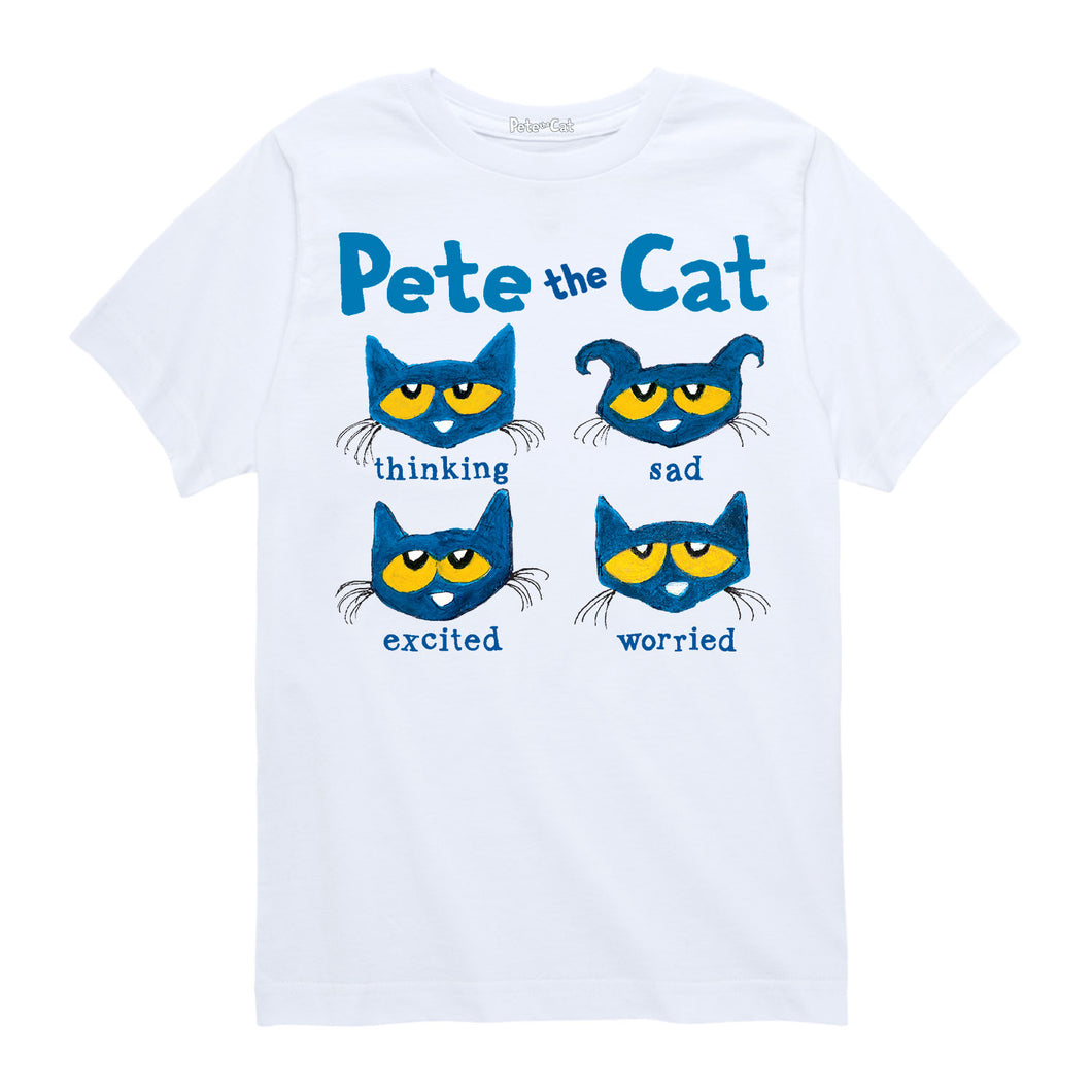 Emotional Cat Youth Shirt