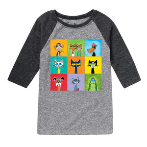 Pete Friends and Family Youth 3/4 Sleeve Shirt