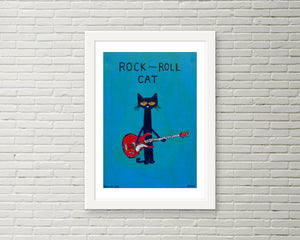 Rock N Roll Cat