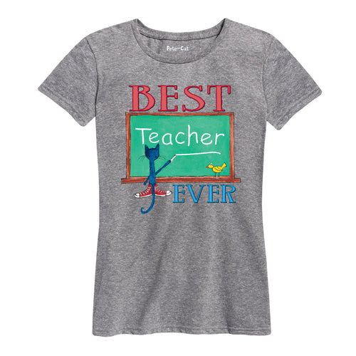 Best Teacher Ladies Fit Shirt