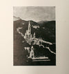 Castle Landscape Letterpress Cut