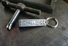 Challenge Rectangle Logo Quoin Keychain