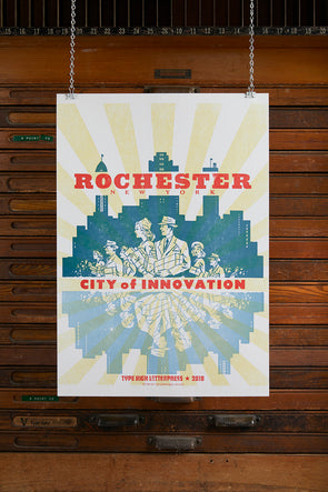 Rochester New York City of Innovation Poster