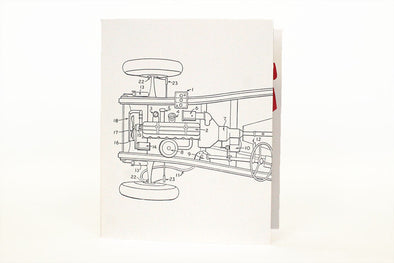 Get my Motor Runnin' Letterpress Greeting Card