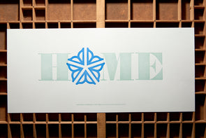 Home - Rectangle Rochester NY Letterpress Poster