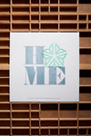 Home - Square - Rochester New York Letterpress Poster