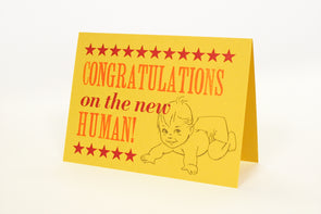 Congratulations on the New Human