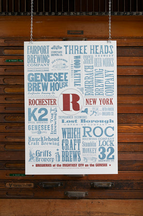 Rochester Beer Poster