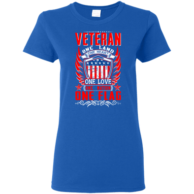 Veteran-One Flag Tee (F)