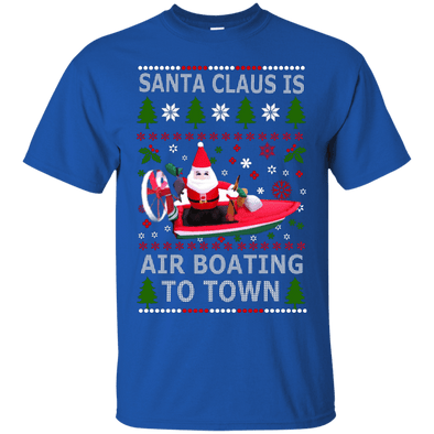 Christmas Shop - Santa Air Boating Tee