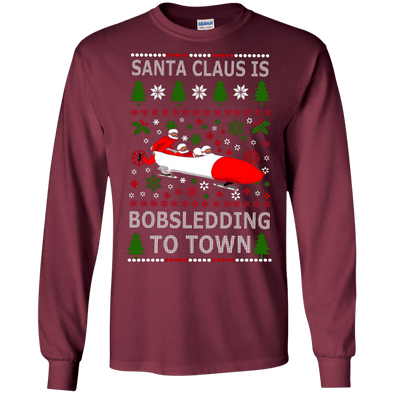 Christmas Shop - Santa Bobsledding LS