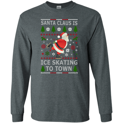 Christmas Shop - Santa Ice Skating LS