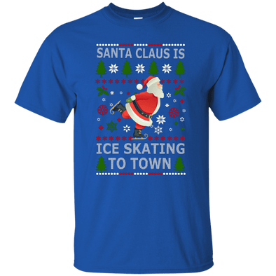 Christmas Shop - Santa Ice Skating Tee