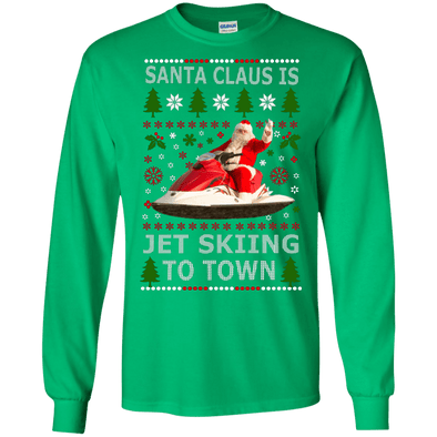 Christmas Shop - Santa Jet Skiing LS