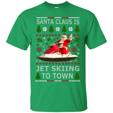 Christmas Shop - Santa Jet Skiing Tee