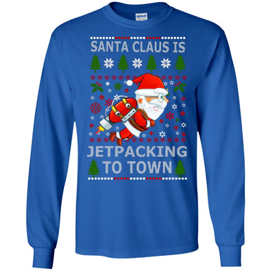 Christmas Shop - Santa Jetpacking LS