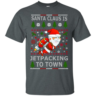 Christmas Shop - Santa Jetpacking Tee