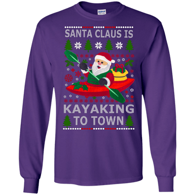 Christmas Shop - Santa Kayaking LS