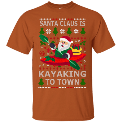 Christmas Shop - Santa Kayaking Tee