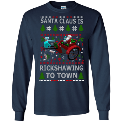 Christmas Shop - Santa Rickshawing LS