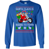Christmas Shop - Santa Riding LS
