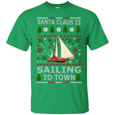 Christmas Shop - Santa Sailing Tee
