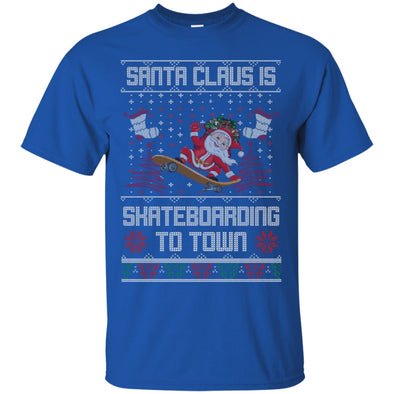Christmas Shop - Santa Skateboarding Tee