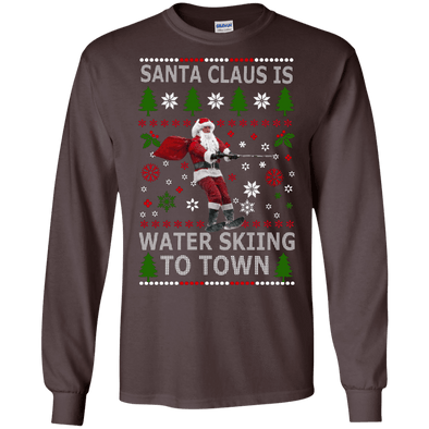 Christmas Shop - Santa Water Skiing LS