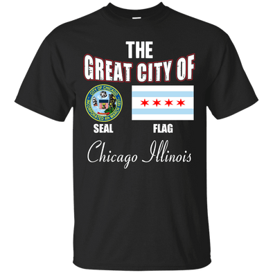 City Designs - Chicago Illinois Tee