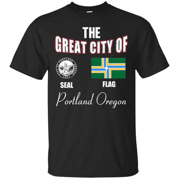 City Designs - Portland Oregon Tee