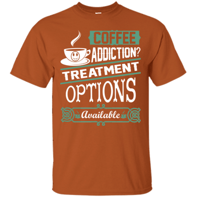 Coffee Lovers - Coffee Addiction Tee