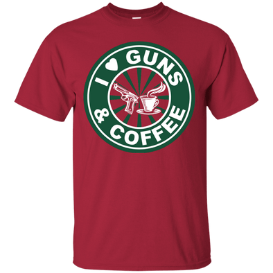 Coffee Lovers - Coffee & Guns Tee