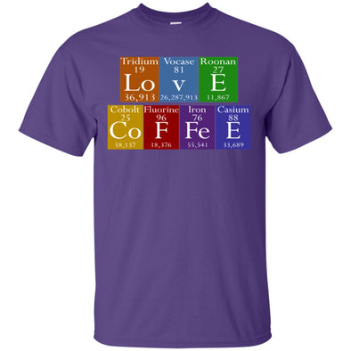 Coffee Lovers - Love Coffee Tee