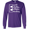 Letter - The E T-Shirt LS