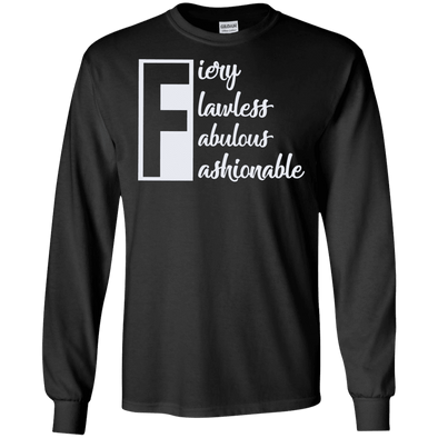 Letter - The F T-Shirt LS
