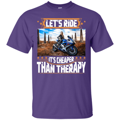 Motorcycle - Let's Ride (1) Tee