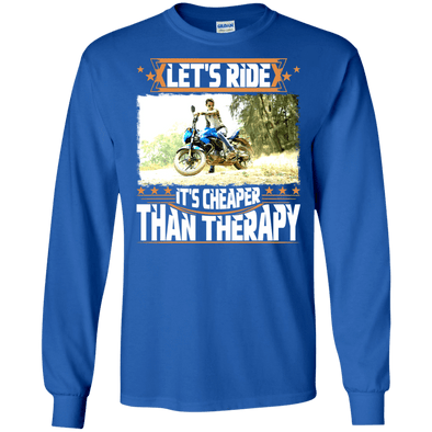 Motorcycle - Let's Ride (2) LS Tee