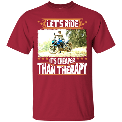 Motorcycle - Let's Ride (2) Tee