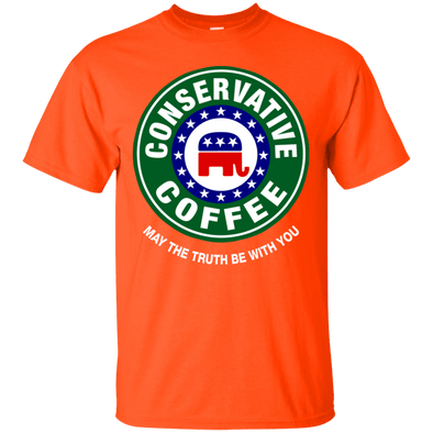 Political - Conservative Coffee Tee